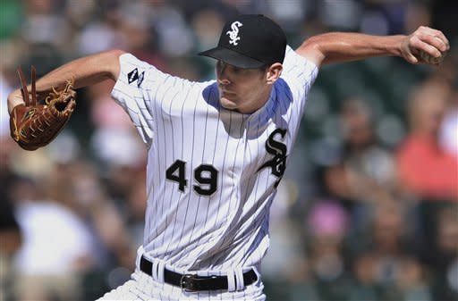 White Sox hit 3 homers in 5-4 win over Royals