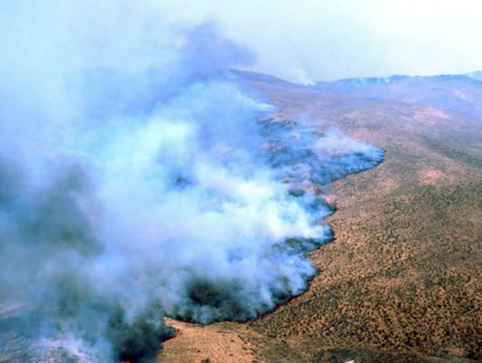 Estimated $580M spent on largest wildfires in 2012