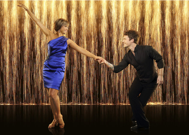"""Dancing with the Stars"" Season 16 DOROTHY HAMILL, TRISTAN MACMANUS"