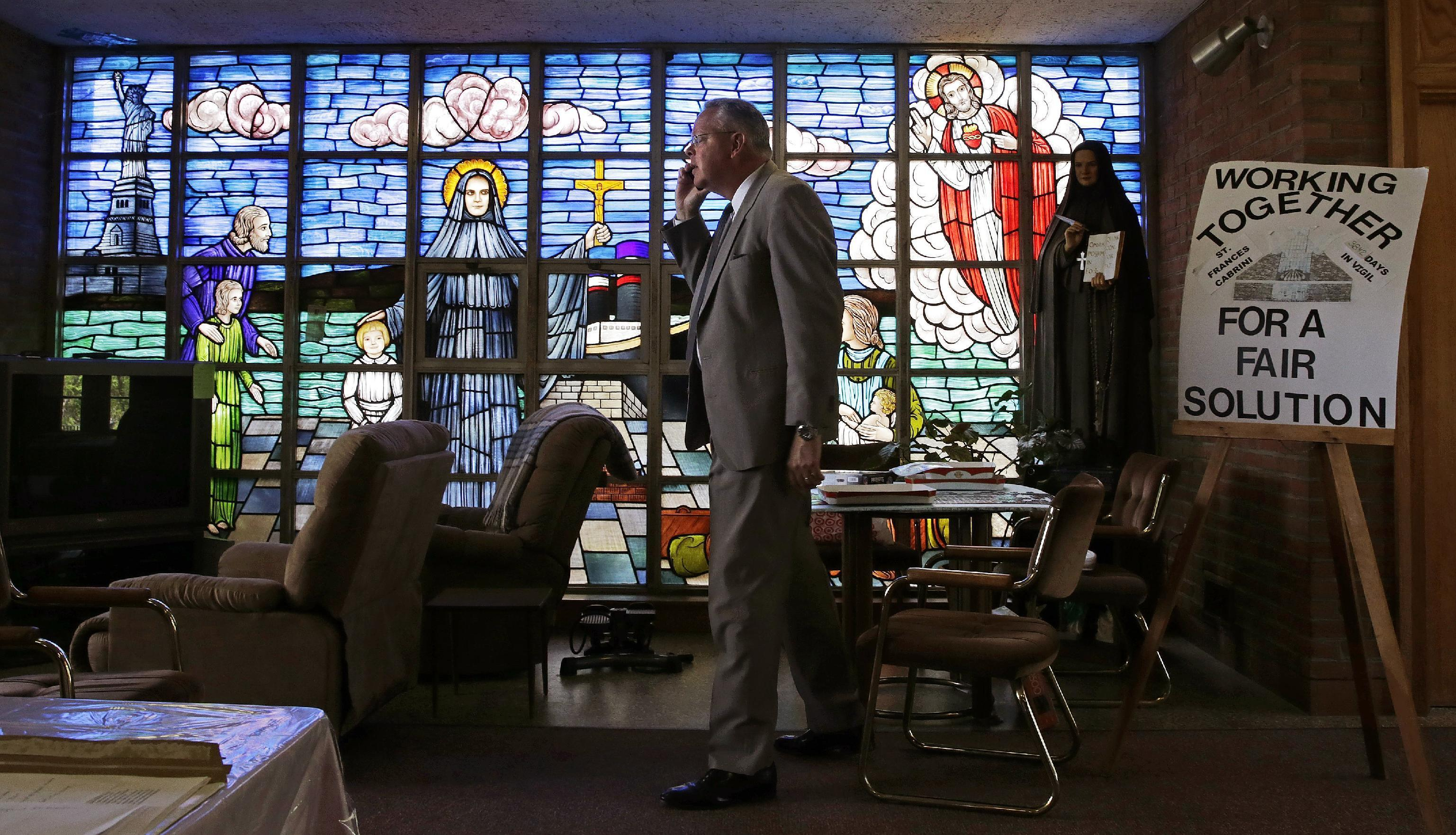 11-year protest in Catholic church faces moment of reckoning