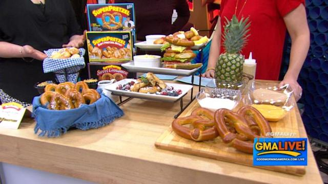 'GMA Live' Celebrates National Soft Pretzel Month