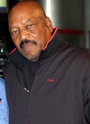Jim Brown was a legend on the football field and would run at defenders in most cases.  he enjoyed punishing defenders.