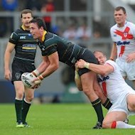 Trent Waterhouse (centre) is almost certain to miss the Challenge Cup semi-final