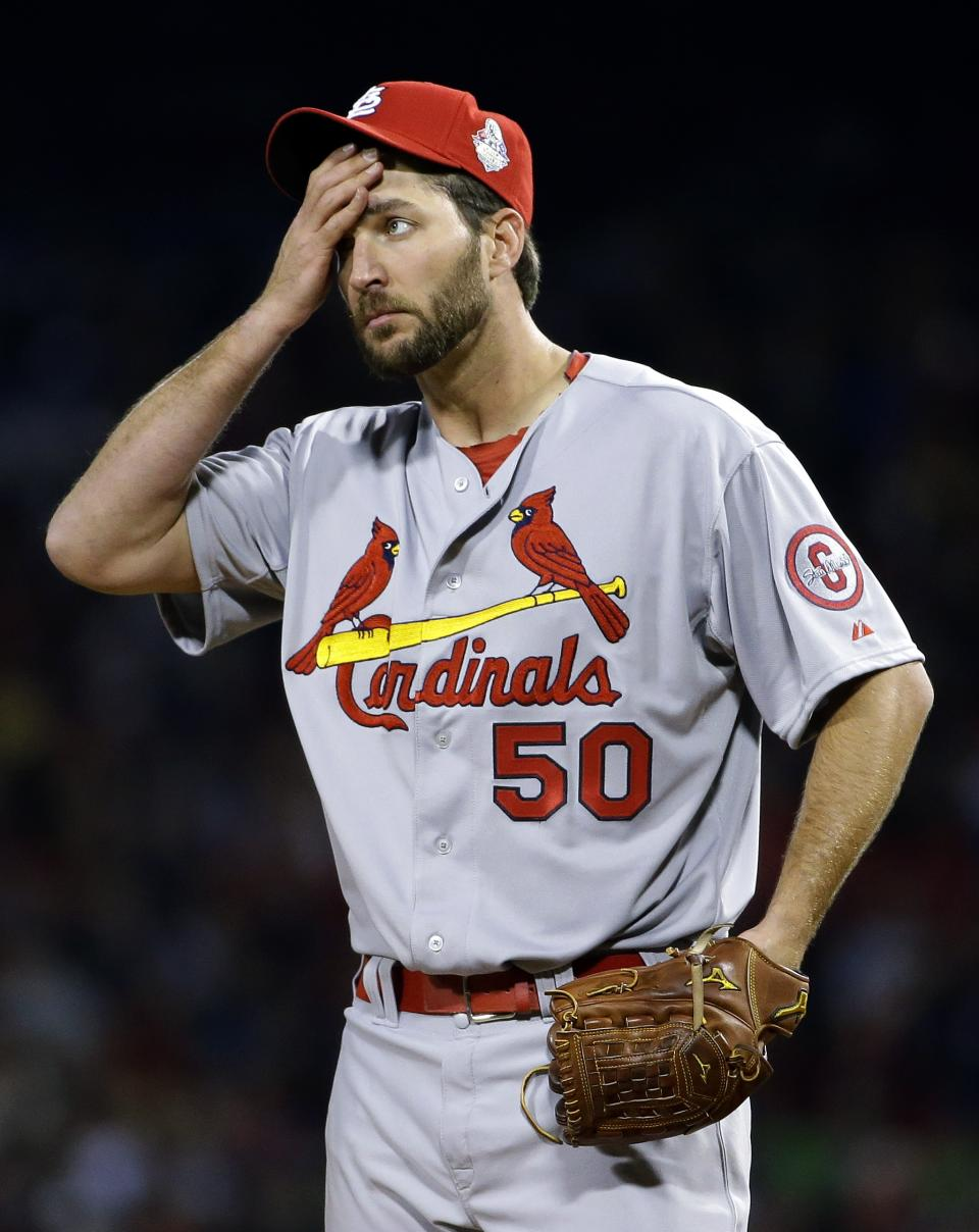 Cards ace Wainwright struggles in Series opener