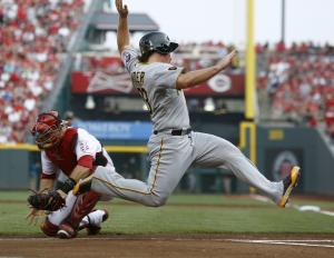McCutchen's HRs rally Pirates over Reds 6-5 in…