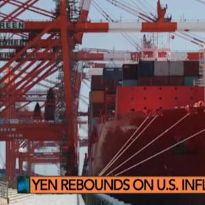 Yen Rebounds on U.S. Inflation