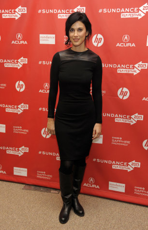 "Cherien Dabis, writer, director and star of ""May in the Summer,"" poses at the premiere of the film on the opening night of the 2013 Sundance Film Festival, Thursday, Jan. 17, 2013, in Park City, Utah. (Photo by Chris Pizzello/Invision/AP)"
