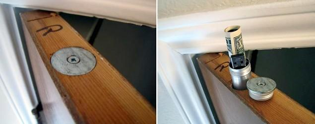 Popular This Week: Best place to hide your stuff