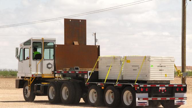 Texas site begins taking federal nuclear waste