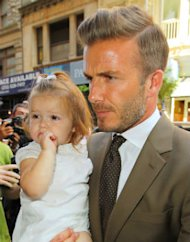 Celeb Moment Of The Week......Harper Beckham Star Of New York Fashion Week