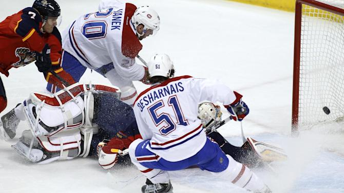 Canadiens' win streak reaches 5 with 4-1 victory