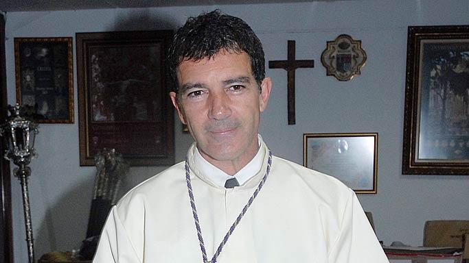 Antonio Banderas Spain Holy Week