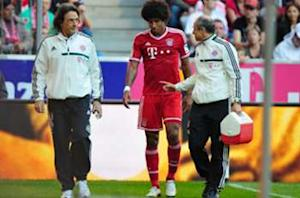 Dante resumes Bayern training