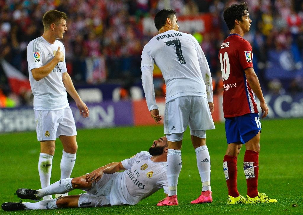 Injured Carvajal out of Spain's Euro qualifiers