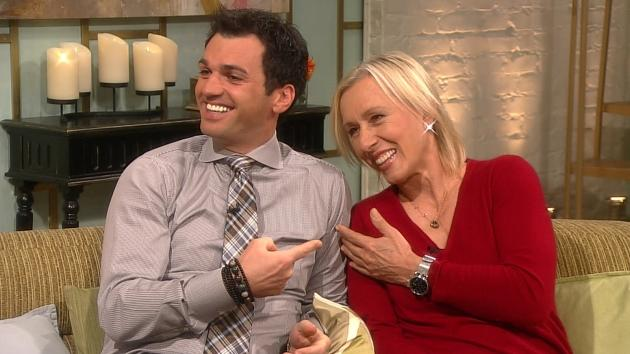 Martina Navratilova & Tony Dovolani On Their 'Dancing' Chances: 'We're The Underdogs'  -- Access Hollywood