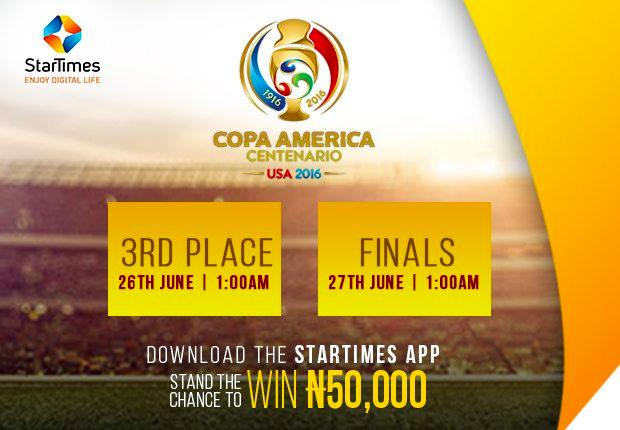 Road to Finals #COPAAmericaOnStartimes