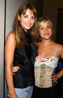 Erica Parker and Allison Mack 2004 San Diego Comic-Con International - 7/24/2004 Erica Durance