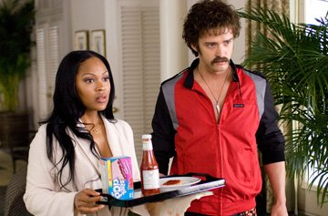 Meagan Good and Justin Timberlake in Paramount Pictures' The Love Guru