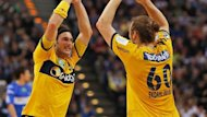 Die Rhein-Neckar Lwen gewinnen den EHF-Cup