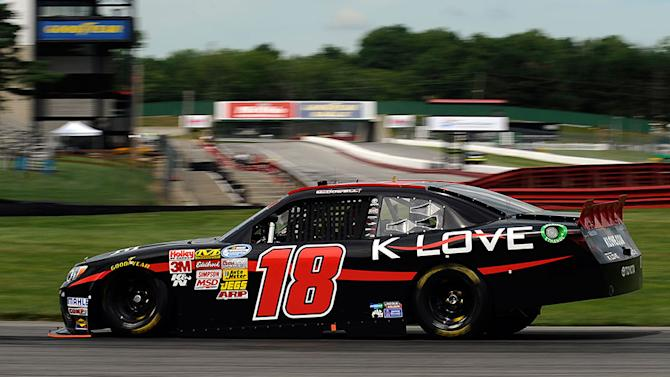 McDowell wins Nationwide pole at Mid-Ohio