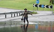 Flood And Rain Alerts Issued Across Britain