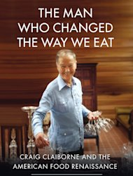 In this book cover image released by Free Press, &quot;The Man Who Changed the Way We Eat: Craig Claiborne and the American Food Renaissance,&quot; by Thomas McNamee, is shown. (AP Photo/Free Press)