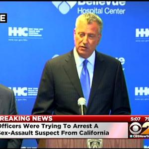 Press Conference: Law Enforcement Officers Wounded In Shootout With Suspect