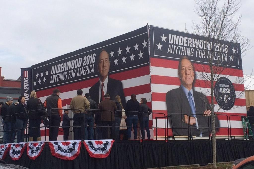 Netflix sets up Frank Underwood campaign headquarters in South Carolina