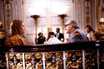 Gwyneth Paltrow and Gene Hackman in Touchstone's The Royal Tenenbaums