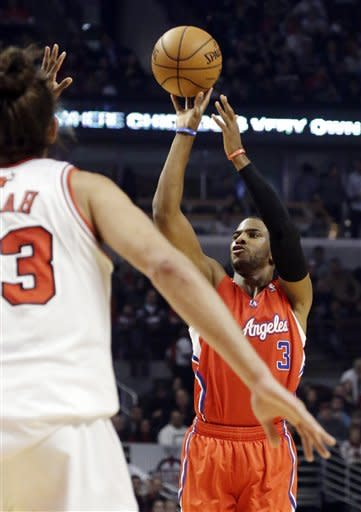 Griffin leads streaking Clippers past Bulls 94-89