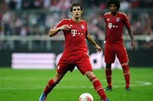 Javi Martinez pleased with full Bayern debut
