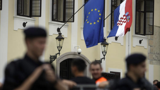Little joy in Croatia as it enters the EU