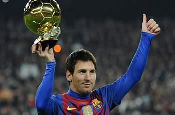 Messi, Ronaldo and Iniesta nominated for 2012 FIFA Ballon d'Or