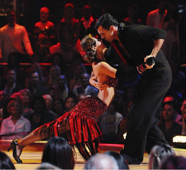 Audrina Patridge and Tony Dovolani perform on &quot;Dancing with the Stars.&quot; 