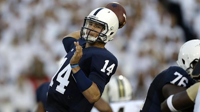 QB Hackenberg balancing school, success at PSU