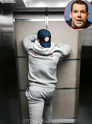 Stuck In Elevator After Being Trapped In Bathroom Yahoo Celebrity