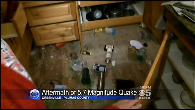 NorCal Town Sees Damage From 5.7 Quake