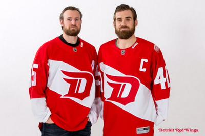 Blackhawks and Red Wings reveal their 2016 Stadium Series jerseys