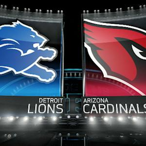 'Inside the NFL': Detroit Lions vs. Arizona Cardinals highlights