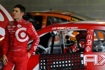 Kyle Larson taken to hospital after fainting