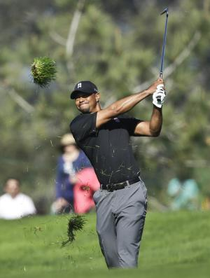 Woods shoots 79 to miss cut at Torrey Pines