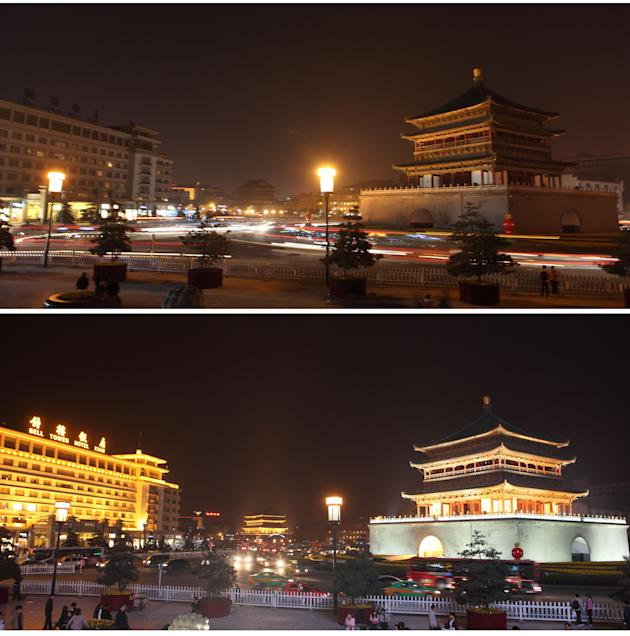 Earth Hour 2011 In China