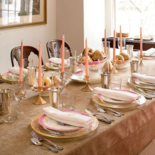 Sparkling Holiday Table