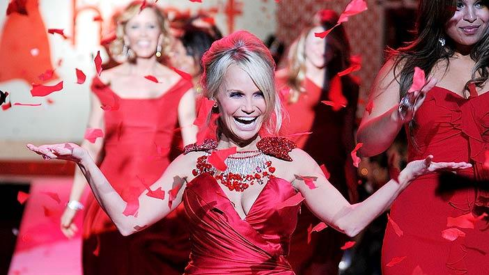 Chenoweth Kristen Red Dress