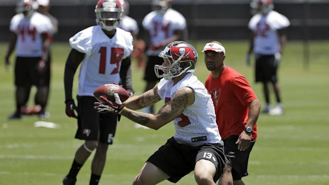 Evans impresses on first day of Bucs rookie camp