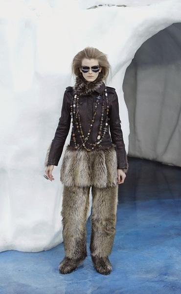 Chanel Fur Pants