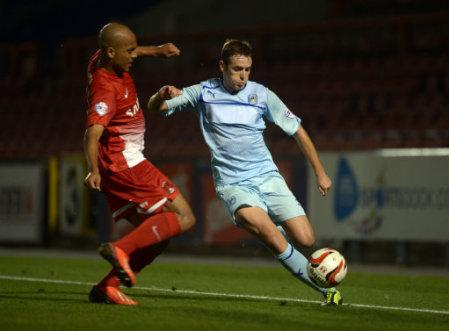 Soccer - Johnstone's Paint Trophy - Second Round - Leyton Orient v Coventry City - Matchroom Stadium