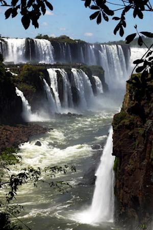 Brazil's Iguazu Falls: one of the must-see sites in 2014 according to Lonely Planet.