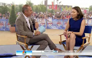 Ann Curry Still Isn't Pleased to See Matt Lauer