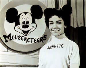 Mickey Mouse Club Icon Annette Funicello Dies